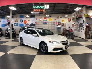 Used 2015 Acura TLX V6 SH-AWD AUT0 LEATHER P/START SUNROOF CAMERA for sale in North York, ON