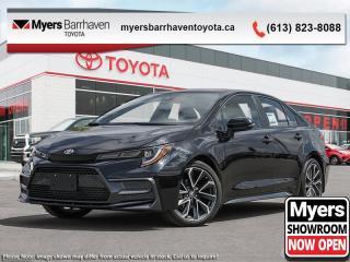 New 2020 Toyota Corolla XSE  - Navigation -  Sunroof - $184 B/W for sale in Ottawa, ON