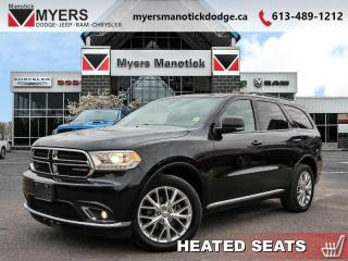 Used 2016 Dodge Durango Limited  - Leather Seats -  Bluetooth - $217 B/W for sale in Ottawa, ON