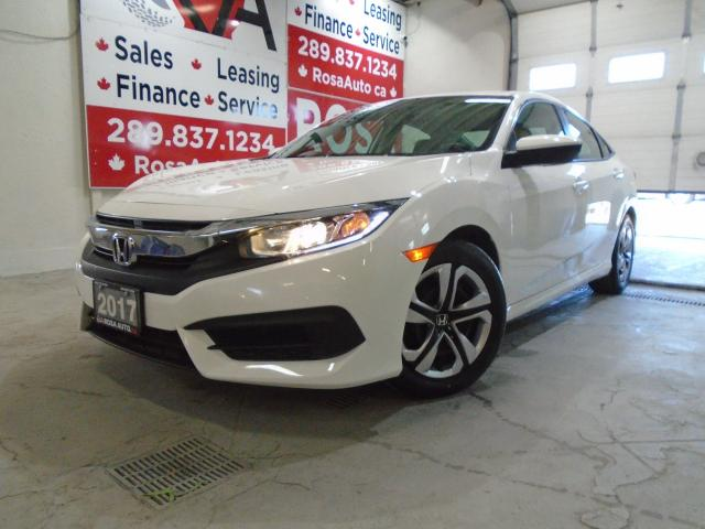 2017 Honda Civic AUTO LOW KM 4 NEW TIRES+ BRAKES B-TOOTH B-CAMERA H