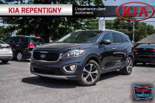 Used 2016 Kia Sorento 3.3L EX+ CUIR - TOIT PANO - CAMERA - 7 PLACES for sale in Repentigny, QC