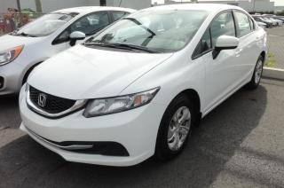 Used 2014 Honda Civic LX 4 portes CVT Bluetooth Sieges Chauffa for sale in St-Jean-Sur-Richelieu, QC