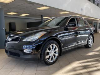 Used 2013 Infiniti EX37 AWD Cuir Mags for sale in Pointe-Aux-Trembles, QC