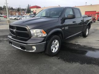 Used 2017 RAM 1500 CREW CAB 149.0 PO OUTDOORSMAN for sale in Sherbrooke, QC
