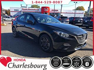 Used 2016 Mazda MAZDA3 GX CLIMATISEUR **UN PROPRIÉTAIRE** for sale in Charlesbourg, QC