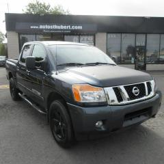 Used 2014 Nissan Titan CREW CAB 4X4 ** 47 000 KM ** for sale in St-Hubert, QC