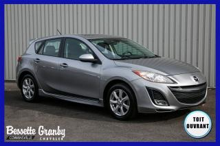 Used 2011 Mazda MAZDA3 Sport GT Sport-Toit ouvrant for sale in Cowansville, QC