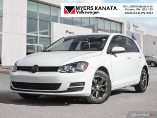 Used 2017 Volkswagen Golf Trendline  - Bluetooth -  Heated Seats for sale in Kanata, ON