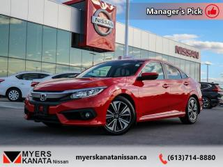 Used 2018 Honda Civic Sedan EX-T  - One owner - Trade-in - $152 B/W for sale in Kanata, ON