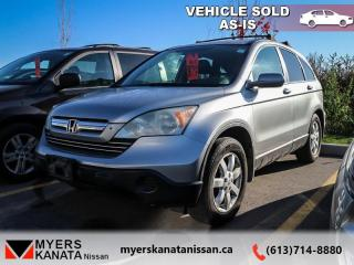 Used 2007 Honda CR-V EX-L  - Trade-in - Local - Alloy Wheels for sale in Kanata, ON