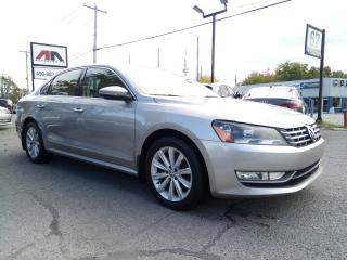 Used 2012 Volkswagen Passat TDI Highline FENDER CUIR / SUEDE TOIT AUTOM. MAGS for sale in St-Eustache, QC
