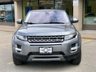 Used 2015 Land Rover Range Rover Evoque Premium, Sky Roof, 360 Camera for sale in Vaughan, ON