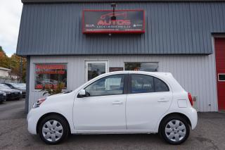 Used 2015 Nissan Micra SV AUTO FULL ÉQUIPÉ A/C BLUETOOTH 91 102 KM !! for sale in Lévis, QC