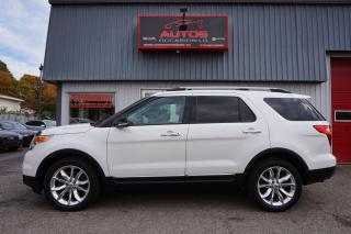Used 2013 Ford Explorer 4WD XLT V-6 3.5L 7 PASS FULL CUIR TOIT GPS NAV CAM for sale in Lévis, QC