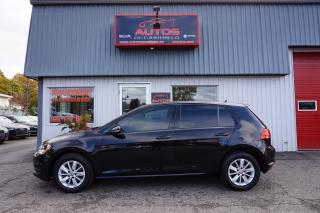 Used 2015 Volkswagen Golf TSI 1.8 TRENDLINE 5 VITESSES MAGS BLUETOOTH 82 309 for sale in Lévis, QC