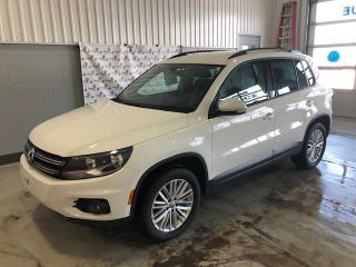 Used 2016 Volkswagen Tiguan SE 4MOTION for sale in Chicoutimi, QC
