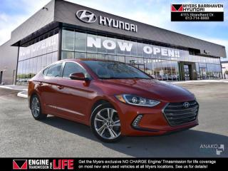 Used 2017 Hyundai Elantra Limited  - $74.08 /Wk for sale in Nepean, ON