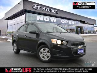 Used 2014 Chevrolet Sonic LT  -  - Air - Cruise for sale in Nepean, ON