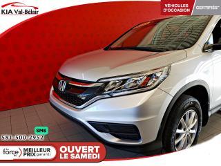 Used 2015 Honda CR-V *LX*CAMÉRA*SIÈGES CHAUFF* AIR*CRUISE* for sale in Québec, QC