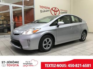 Used 2015 Toyota Prius * CAMÉRA DE RECUL * 68 000 KM * for sale in Mirabel, QC
