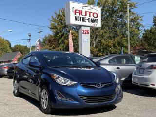 Used 2016 Hyundai Elantra L+ Gr.Électrique A/C Dem.Distance for sale in Repentigny, QC