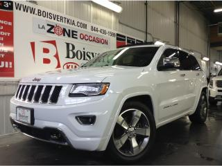 Used 2016 Jeep Grand Cherokee ECO/DIESEL OVERLAND GPS TOIT ATTACHE REMORQUE for sale in Blainville, QC