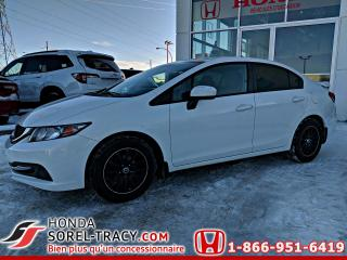 Used 2015 Honda Civic LX boîte manuelle for sale in Sorel-Tracy, QC