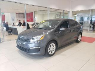 Used 2016 Kia Rio Berline 4 portes, boîte manuelle, LX+ for sale in Beauport, QC