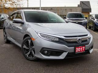 Used 2017 Honda Civic Sedan Touring 4dr FWD Sedan for sale in Brantford, ON
