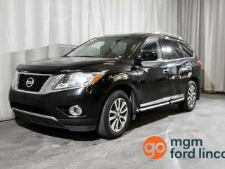 Used 2013 Nissan Pathfinder SL 4WD | 7- PASSENGER SEATING | HEATED STEERING WHEEL | HEATED FRONT + BACK SEATS | BACKUP CAMERA | TRAILER TOW for sale in Red Deer, AB