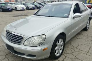 Used 2003 Mercedes-Benz S-Class 4.3L for sale in Hamilton, ON