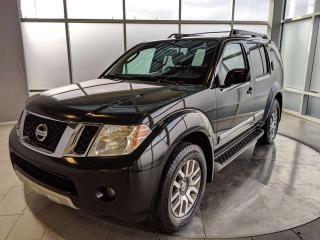 Used 2010 Nissan Pathfinder LE 4WD - Accident Free Carfax! for sale in Edmonton, AB