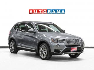 Used 2016 BMW X3 xDrive28i Navigation Leather Pano-Sunroof B-Cam for sale in Toronto, ON