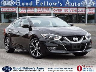 Used 2016 Nissan Maxima SV MODEL, 6CYL 3.5L, POWER SEATS, NAVIGATION for sale in Toronto, ON