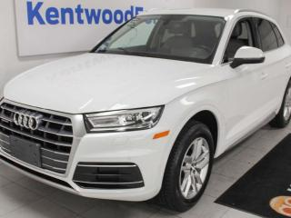 Used 2018 Audi Q5 Komfort AWD TFSI Quattro with heated power leather seats, back up cam for sale in Edmonton, AB