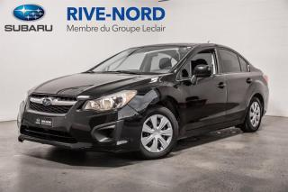 Used 2014 Subaru Impreza BLUETOOTH+A/C+GR.ELECTRIQUE for sale in Boisbriand, QC