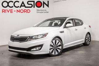 Used 2012 Kia Optima SX Turbo TOIT.PANO+CUIR+CAM.RECUL for sale in Boisbriand, QC