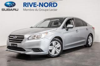 Used 2017 Subaru Legacy BLUETOOTH+CAM.RECUL+SIEGES.CHAUFFANTS for sale in Boisbriand, QC