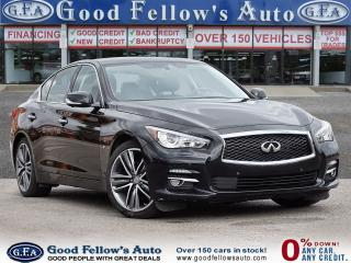 Used 2015 Infiniti Q50 6CYL 3.7L, AWD, POWER & LEATHER SEATS, NAVIGATION for sale in Toronto, ON