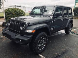 Used 2020 Jeep Wrangler Unlimited Unlimited Sport S for sale in Richmond, BC