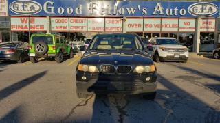 Used 2003 BMW X5 X5 MODEL, 3.0L 6CYL, AWD, LEATHER & POWER SEATS for sale in Toronto, ON