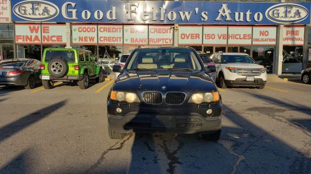 2003 BMW X5 X5 MODEL, 3.0L 6CYL, AWD, LEATHER & POWER SEATS