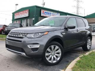 Used 2016 Land Rover Discovery Sport HSE LUXURY 7 Pass for sale in Burlington, ON