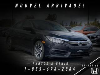 Used 2016 Honda Civic EX 4 portes CVT for sale in St-Basile-le-Grand, QC