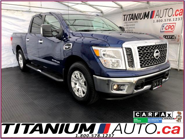 2017 Nissan Titan SV+4X4+GPS+Camera+Blind Spot+Tow PKG.+Heated Seats