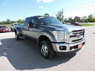 Used 2013 Ford F-450 XLT. Diesel. 4X4. Leather. New tires for sale in Gorrie, ON