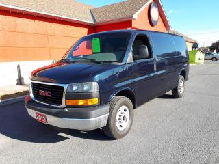 Used 2012 GMC Savana 2500 Cargo for sale in Cornwall, ON