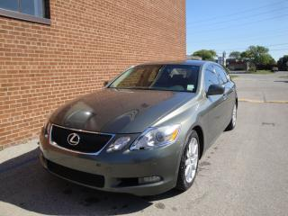 Used 2006 Lexus GS 300 LEATHER /SUNROOF/NAVI/CAMSENSORS for sale in Oakville, ON