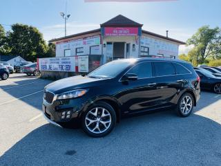Used 2016 Kia Sorento SX AWD|CERTIFIED PANORAMIC| NAVIGATION| CAMERA| HEATED| MIRRORS | HEATED LEATHER SEAT| POWER SEATS. for sale in Mississauga, ON