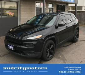 Used 2016 Jeep Cherokee Altitude/4x4/One owner/No accidents for sale in Niagara Falls, ON